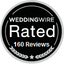 Weddingwire Rated 160 Reviews